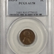New Certified Coins 1919-S LINCOLN CENT – PCGS AU-50