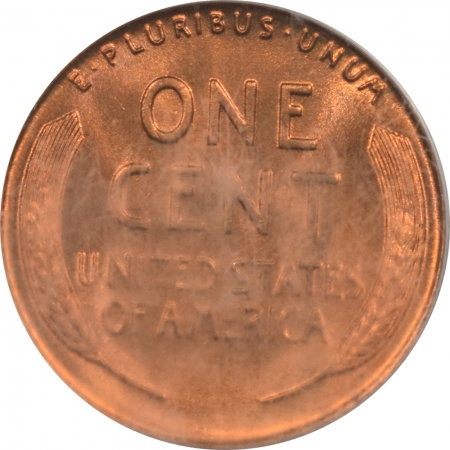 New Certified Coins 1938-D LINCOLN CENT – PCGS MS-66 RD