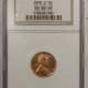 New Certified Coins 1939 LINCOLN CENT – PCGS MS-66 RD OMAHA BANK HOARD