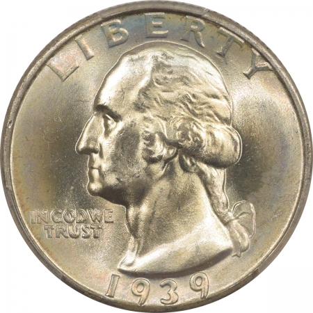 New Certified Coins 1939 WASHINGTON QUARTER – PCGS MS-67+ FRESH & PREMIUM QUALITY!