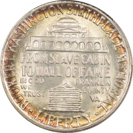 New Certified Coins 1951 BOOKER T. WASHINGTON COMMEMORATIVE HALF DOLLAR PCGS MS-65, PRETTY, PQ GEM!