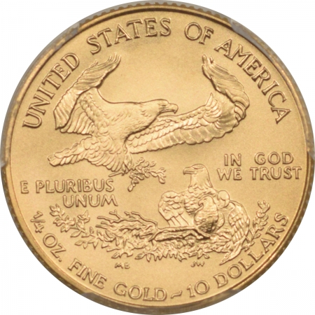 New Certified Coins 1998 $10 1/4 OZ AMERICAN GOLD EAGLE PCGS MS-70 RARE POP 65 PERFECT! PCGS= $3200