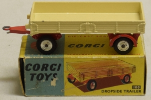 Corgi CORGI 100 DROPSIDE TRAILER, MINT MODEL W/ VG BOX