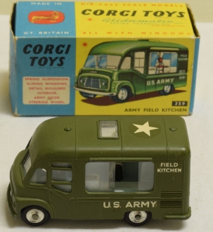 Corgi CORGI 359 ARMY FIELD KITCHEN, MINT MODEL W/ VG BOX