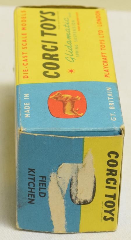 Corgi CORGI 359 ARMY FIELD KITCHEN, MINT MODEL W/ VG BOX
