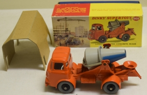 Dinky DINKY 960 LORRY-MOUNTED CONCRETE MIXER, NEAR-MINT MODEL W/ EXCELLENT BOX!