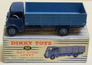 Dinky DINKY 511 GUY 4-TON LORR, EXCELLENT MODEL W/ EXCELLENT BOX!