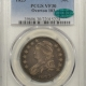 New Certified Coins 1823 CAPPED BUST HALF DOLLAR – O-105 – PCGS VF-35 CAC APPROVED!
