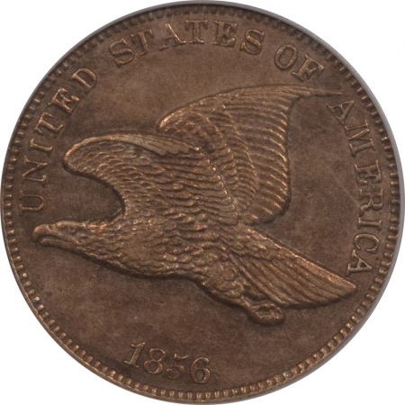 New Certified Coins 1856 PROOF FLYING EAGLE CENT – PCGS PR-50