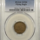 New Certified Coins 1802 DRAPED BUST LARGE CENT – PCGS F-12, CHOCOLATE BROWN & SMOOTH!
