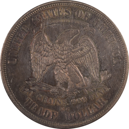 New Certified Coins 1875-CC TRADE DOLLAR – NGC AU-55, TOUGH CARSON CITY!
