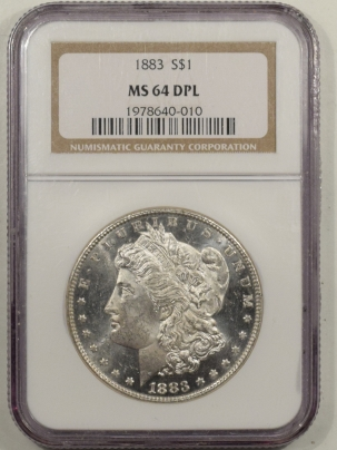 New Certified Coins 1883 MORGAN DOLLAR – NGC MS-64 DPL