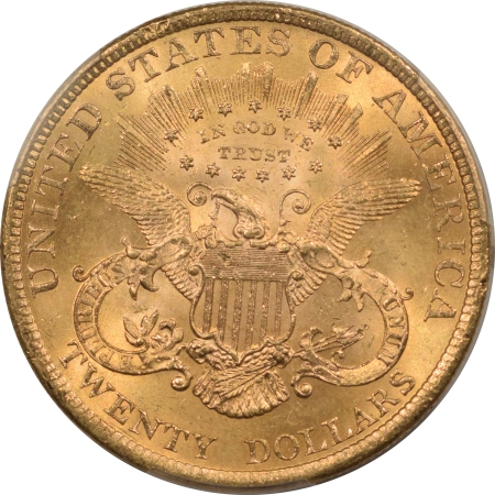 New Certified Coins 1900 $20 LIBERTY GOLD – PCGS MS-64+, CAC APPROVED!