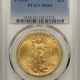 New Certified Coins 1910-D $20 ST GAUDENS GOLD – PCGS MS-62