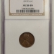 Lincoln Cents (Wheat) 1916-S LINCOLN CENT – NGC AU-58 BN