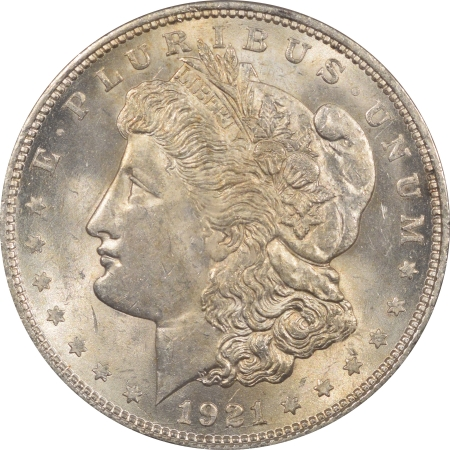 New Certified Coins 1921-D MORGAN DOLLAR – PCGS MS-62