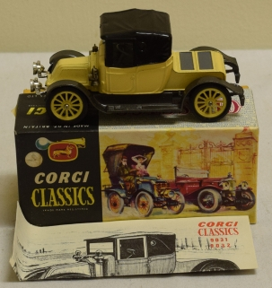 Corgi CORGI 9032 1910 RENAULT PRIMROSE, NEAR-MINT MODEL W/ NEAR-MINT MODEL!