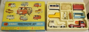 Corgi CORGI GS-24 CONSTRUCTOR SET, VG MODEL W/ VG/EXCELLENT BOX!