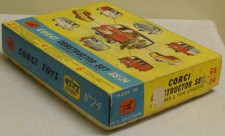 Corgi CORGI GS-24 CONSTRUCTOR SET, VG MODEL W/ VG/EXCELLENT BOX!