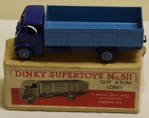 Dinky DINKY 511 GUY 4-TON LORRY EXCELLENT MODEL W/ VG BOX!