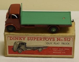 Dinky DINKY 512 GUY FLAT TRUCK, NEAR-MINT MODEL W/ VG++ BOX!
