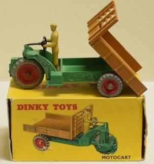 Dinky DINKY 342 MOTOCART, NEAR-MINT MODEL W/ VG BOX!