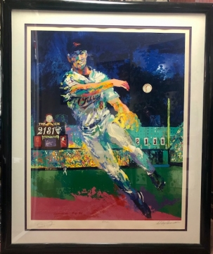 "Sports Collectibles LARGE LEROY NEIMAN CAL RIPKEN ""2131"" SERIGRAPH ARTIST PROOF, CUSTOM FRAME & COA"