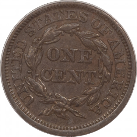 Braided Hair Large Cents 1844 BRAIDED HAIR LARGE CENT – PCGS AU-55