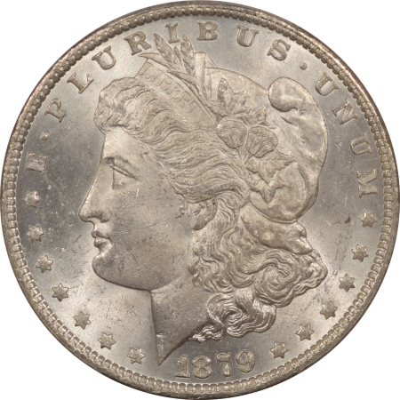 New Certified Coins 1879-O MORGAN DOLLAR – PCGS MS-64 WHITE!
