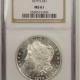 New Certified Coins 1881-S MORGAN DOLLAR – PCGS MS-64, FRESH! PQ+ RATTLER!