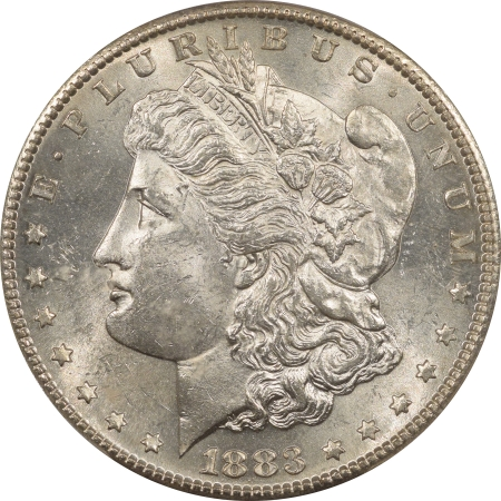 New Certified Coins 1883-S MORGAN DOLLAR – PCGS MS-62