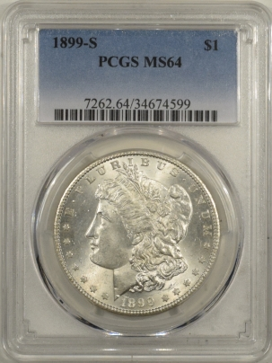Morgan Dollars 1899-S MORGAN DOLLAR – PCGS MS-64