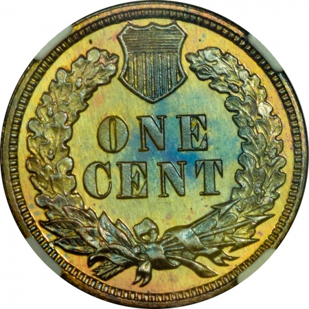 New Certified Coins BEAUTIFUL 1900 INDIAN CENT, NGC PR-66 RB, CAC; DROP-DEAD GORGEOUS & PQ!