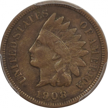 New Certified Coins 1908-S INDIAN CENT – PCGS VF-30