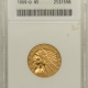 New Certified Coins 1900 $5 LIBERTY GOLD – PCGS MS-62
