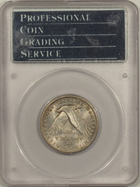 U.S. Certified Coins 1917 TY I STANDING LIBERTY QUARTER, PCGS MS-64, RATTLER & CAC; LOOKS MS-66 & PQ!