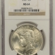 New Certified Coins 1923 PEACE DOLLAR – PCGS MS-65