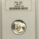 New Certified Coins 1940-D WASHINGTON QUARTER – NGC MS-65 BLAST WHITE!
