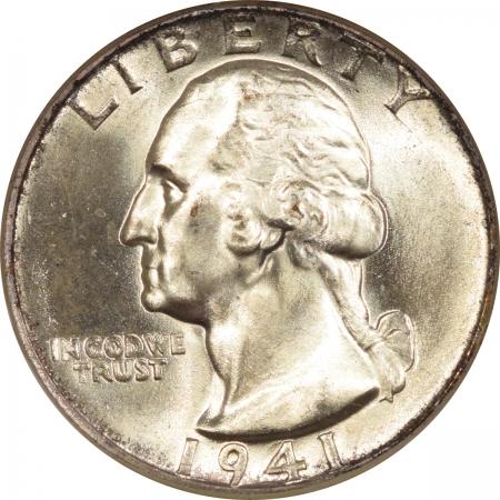 New Certified Coins 1941 WASHINGTON QUARTER – NGC MS-67 FATTIE HOLDER, PRISTINE & PREMIUM QUALITY!