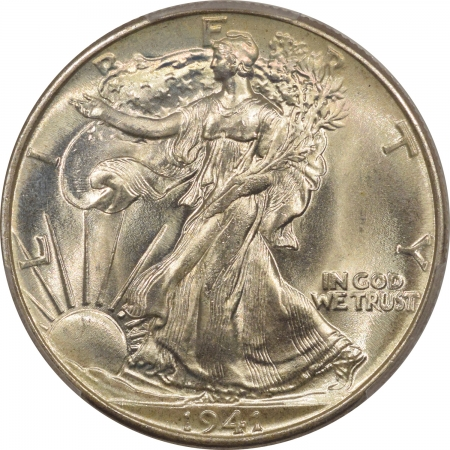 New Certified Coins 1941 WALKING LIBERTY HALF DOLLAR PCGS MS-67+ CAC APPROVED, SUPERB GEM, AMAZING!