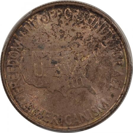 New Certified Coins 1952 WASHINGTON-CARVER COMMEMORATIVE HALF DOLLAR – PCGS MS-65 PRETTY GEM!