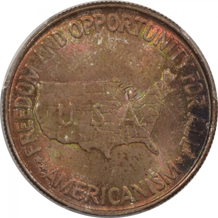 New Certified Coins 1952 WASHINGTON-CARVER COMMEMORATIVE HALF DOLLAR – PCGS MS-65 PRETTY & ORIGINAL!