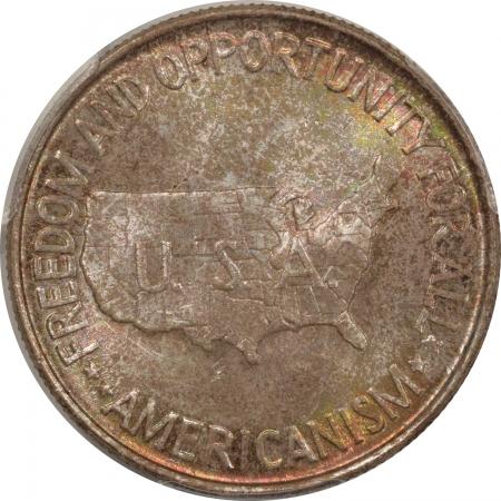 New Certified Coins 1952 WASHINGTON-CARVER COMMEMORATIVE HALF DOLLAR – PCGS MS-66 ORIGINAL, PRETTY!