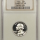 Coin World/Numismatic News Featured Coins 1953 PROOF WASHINGTON QUARTER – NGC PF-66 ULTRA CAMEO, MOSTER DEEP!