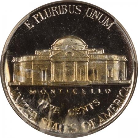 New Certified Coins 1955 PROOF JEFFERSON NICKEL – PCGS PR-68, LOOKS CAMEO!