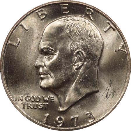 New Certified Coins 1973-D EISENHOWER DOLLAR – PCGS MS-66