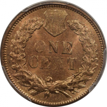 New Certified Coins 1873 INDIAN CENT – CLOSED 3 – PCGS MS-65+ RB LOOKS RED, PQ++ & CAC APPROVED!