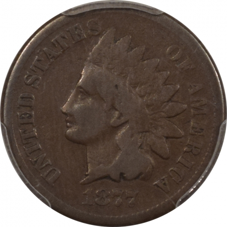 New Certified Coins 1877 INDIAN CENT – PCGS G-6, CHOCOLATE BROWN! KEY DATE!