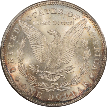 New Certified Coins 1878 MORGAN DOLLAR, 7/8 TF, STRONG – PCGS MS-65 A REALLY PRETTY GEM!