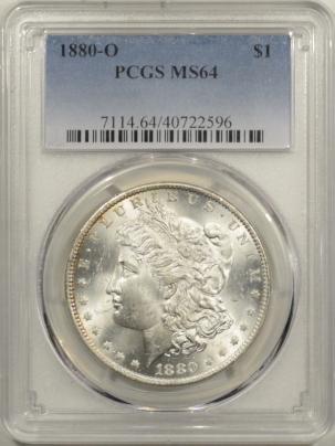 Morgan Dollars 1880-O MORGAN DOLLAR – PCGS MS-64